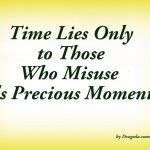 Time's Gift – Poem about Time Passing By