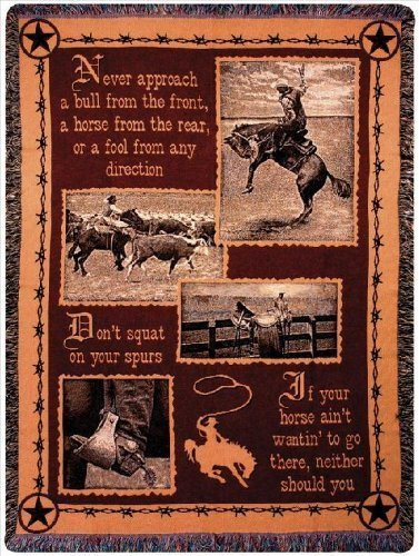 Quote Throw for those Who Love Horses