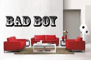 Bad Boy Wall Decal