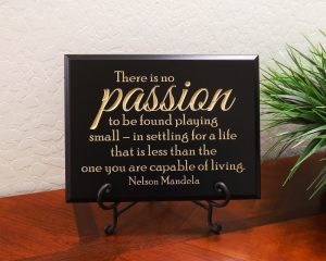 Nelson Mandela There is No Passion to be Found Playing Small