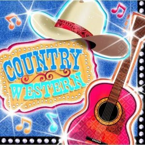 Country Music Napkins