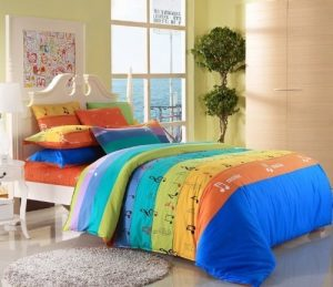 Music Note Bedding